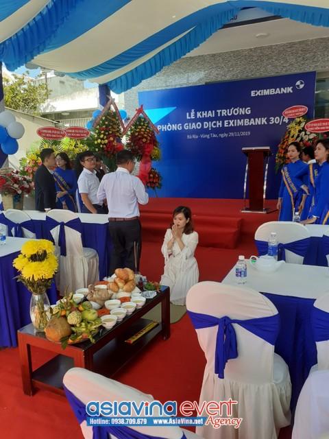 Khai Trương Phòng Giao Dịch Eximbank Vũng Tàu