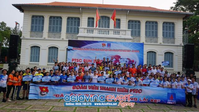 PTSC RUN lần thứ Nhất – 2020 – Tuổi trẻ PTSC rèn luyện thể dục thể thao theo gương Bác Hồ vĩ đại